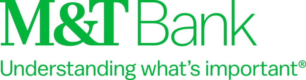 M&T Bank Logo in green with tagline
