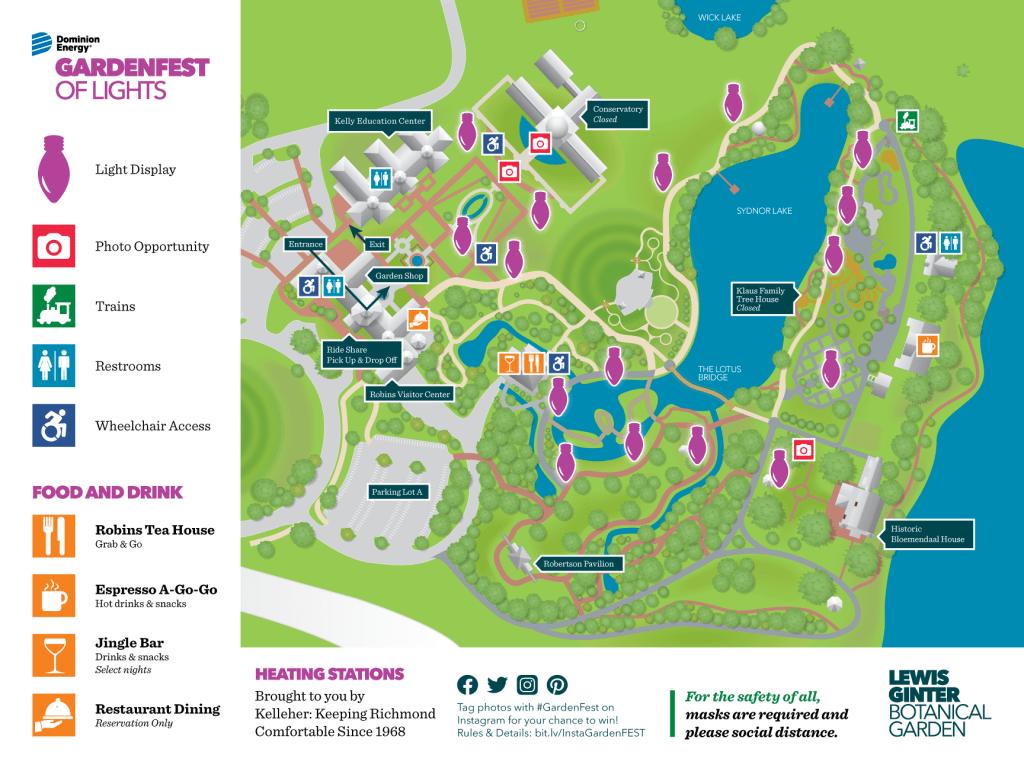 GardenFest Map
