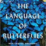 book cover of the language of butterflies