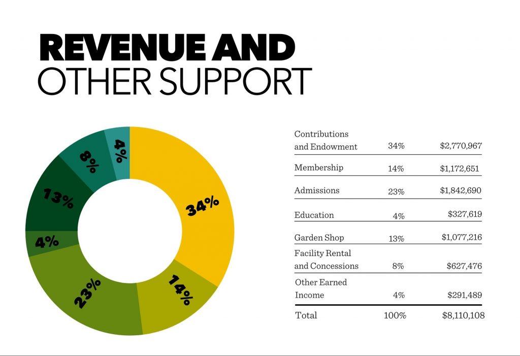 Revenue Chart for Annual Report